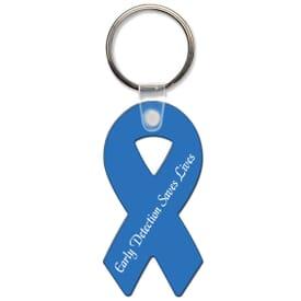 High Gloss Key Tag- Ribbon