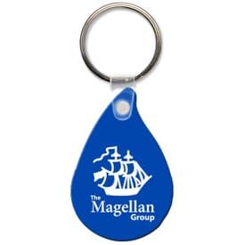 High Gloss Key Tag- Droplet