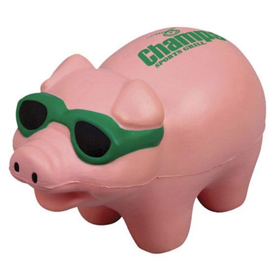 Shades Pig Stress Ball