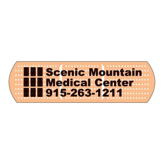 Special Shaped Magnet Medium Bandage
