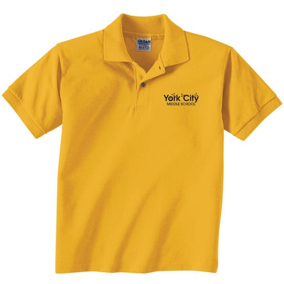 Gildan® DryBlend™ Jersey Polo - Youth