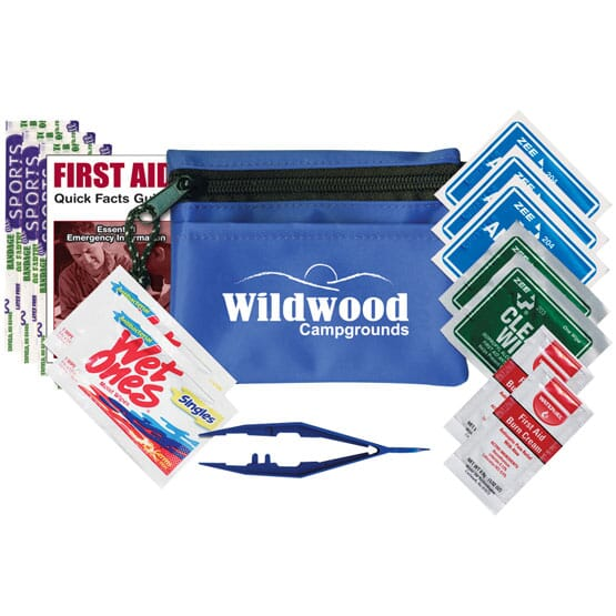 15 Piece First Aid Kit