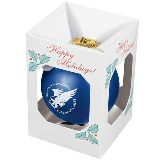 Shatterproof Holiday <br>Ball Ornament