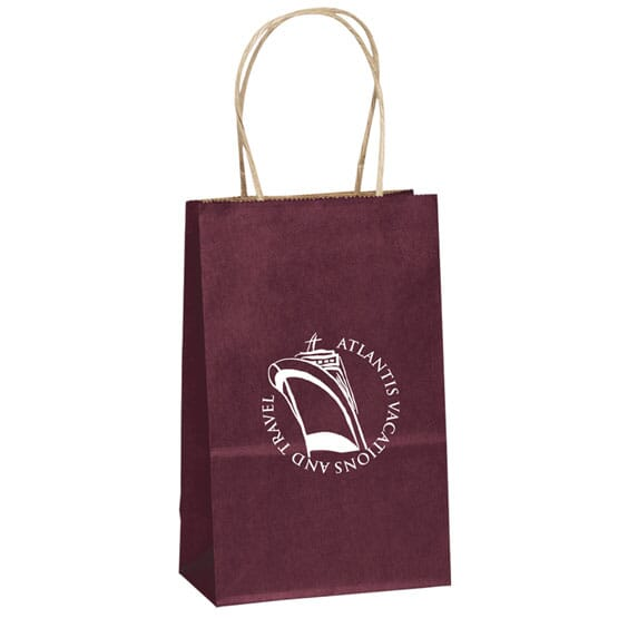 "Matte Finish Paper Bag 6"" x 8-3/8"""