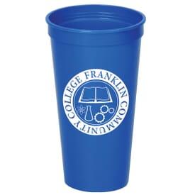 24 oz. Solid Stadium Cup – 24hr Service