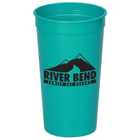 32 oz. Solid Stadium Cup - 24hr Service