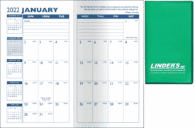 2021 Predictable Monthly Planner- Translucent