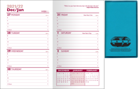 2022 Predictable Weekly Planner- Translucent