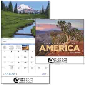 2022 Landscapes of America Calendar - Spiral