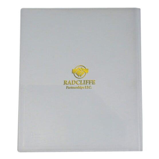 Translucent Presentation Folder