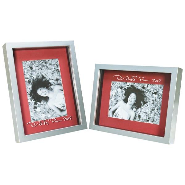 "Silver Shadowbox Frame - 4"" x 6"""