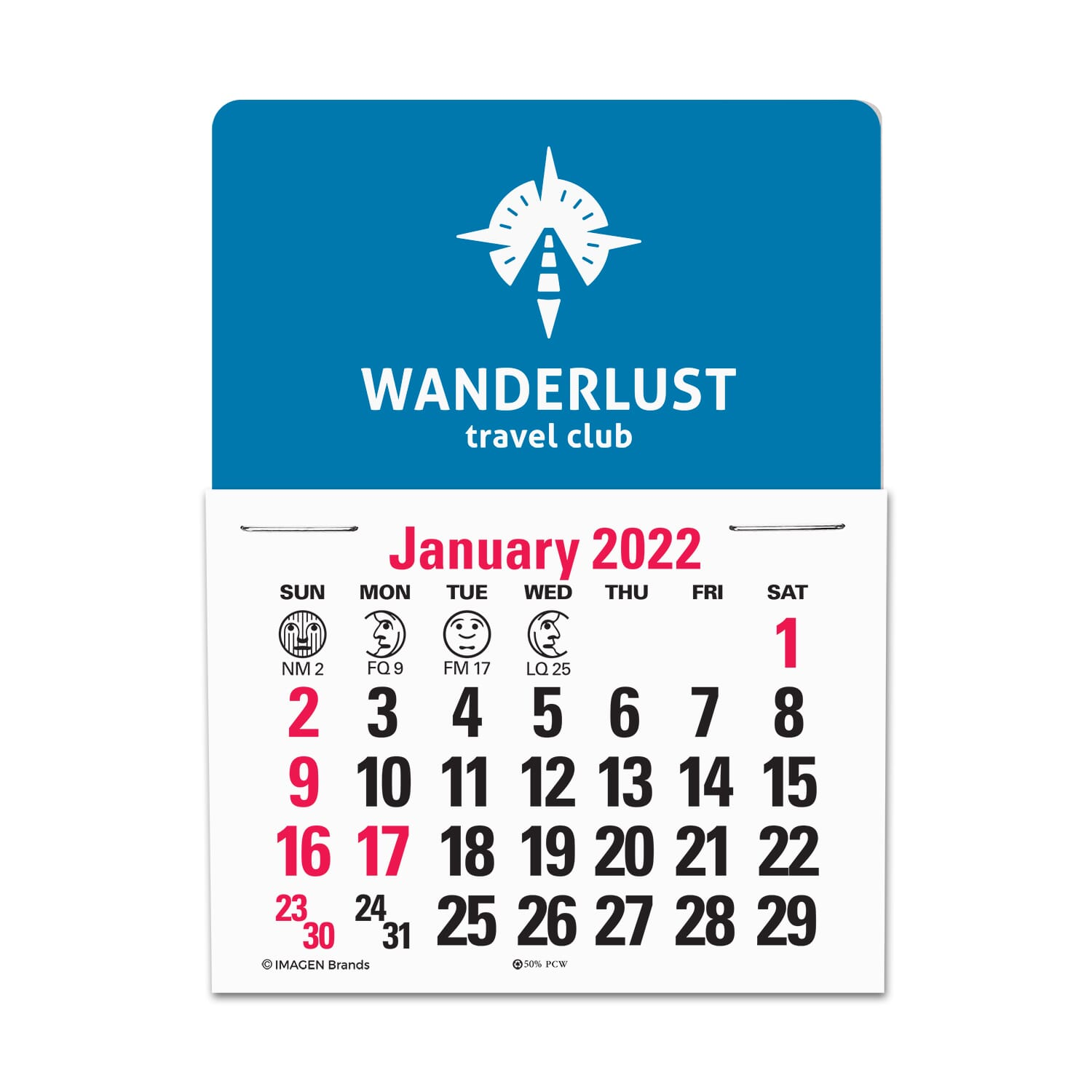 2022 Standard Press-N-Stick™ Calendar