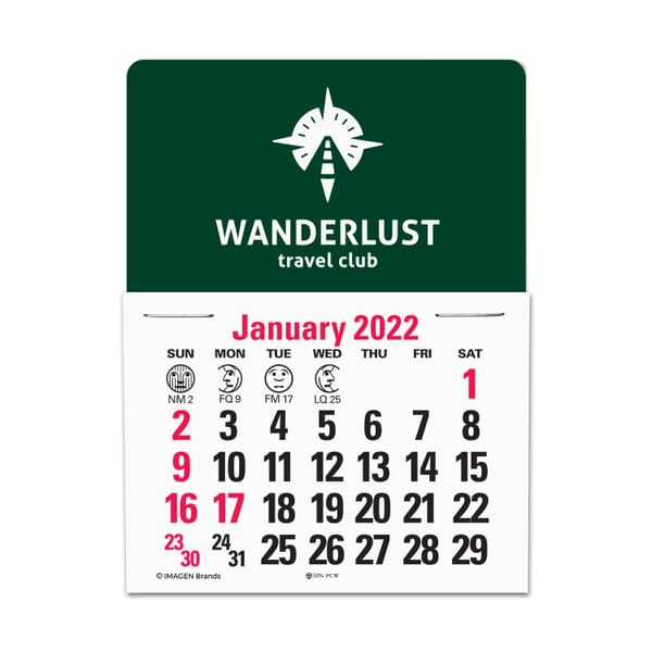 2021 Standard Press-N-Stick™ Calendar