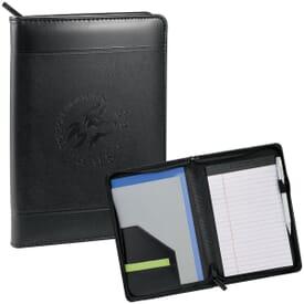 Zippered Writing Folder Jr.