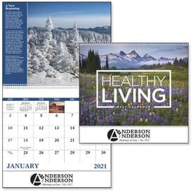 2020 Healthy Living Calendar - Spiral
