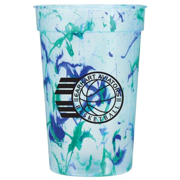 17 oz Color Splash Stadium Cup