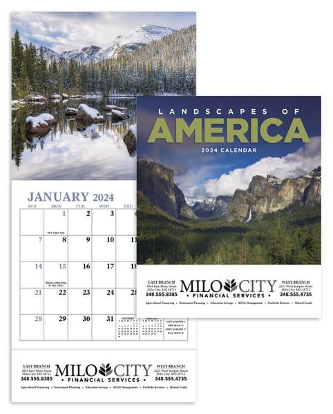 2021 Landscapes of America Calendar - Mini