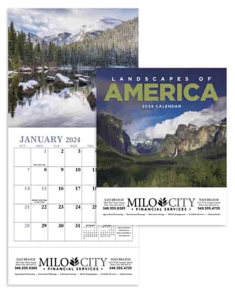 2022 Landscapes of America Calendar - Mini