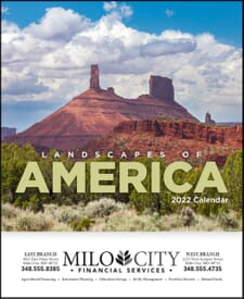 2021 Landscapes of America Calendar - Mini