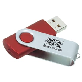 Expert Fold-A-Flash USB Drive 2GB