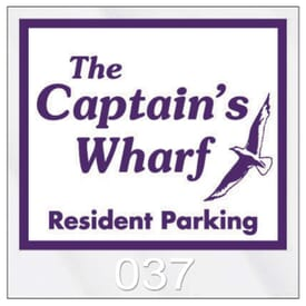 Parking Permit- Square