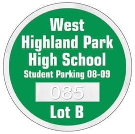 Parking Permit- Round