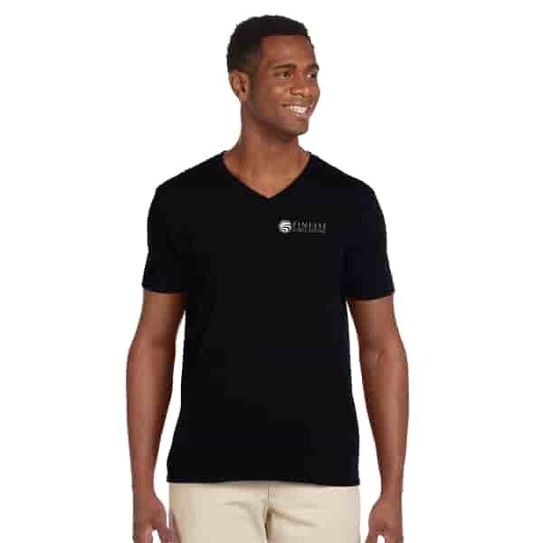 Gildan® Softstyle V-Neck T-Shirt - Men's
