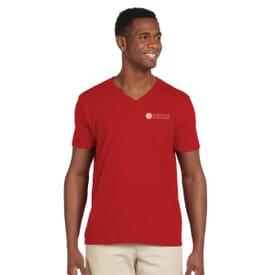 Gildan® Softstyle V-Neck T-Shirt – Men's
