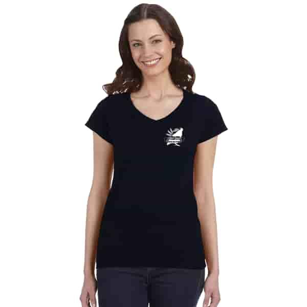 Gildan® Softstyle V-Neck T-Shirt - Ladies'