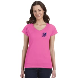 Gildan® Softstyle V-Neck T-Shirt – Ladies'