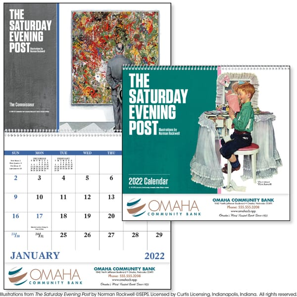2020 Saturday Evening Post, Illustrations by Norman Rockwell