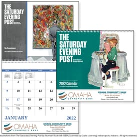 2021 Saturday Evening Post, Illustrations by Norman Rockwell