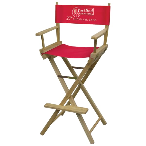 Director's Chair – Bar Height