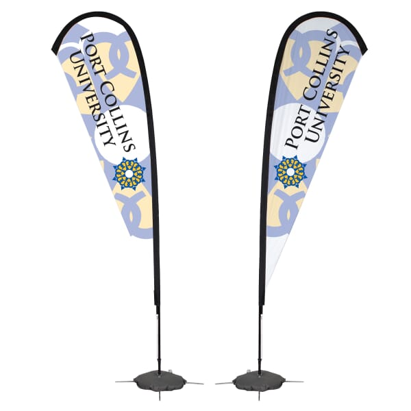 11 1/2 ft. Tear Drop Sail Sign – Double Sided