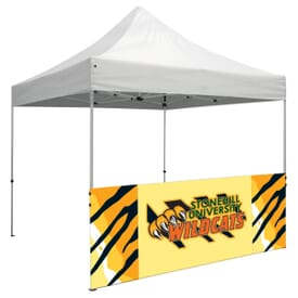 Half Wall Banner With Full Color Imprint