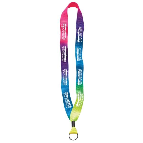 """3/4"""" Tie-Dye Lanyard"""