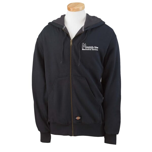 Dickies® Thermal-Lined Full Zip Hoodie