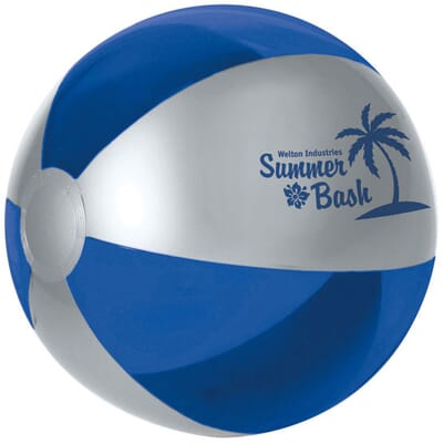 Mulit colored beach ball