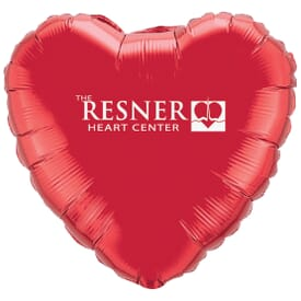 "18"" Microfoil® Heart Balloon"