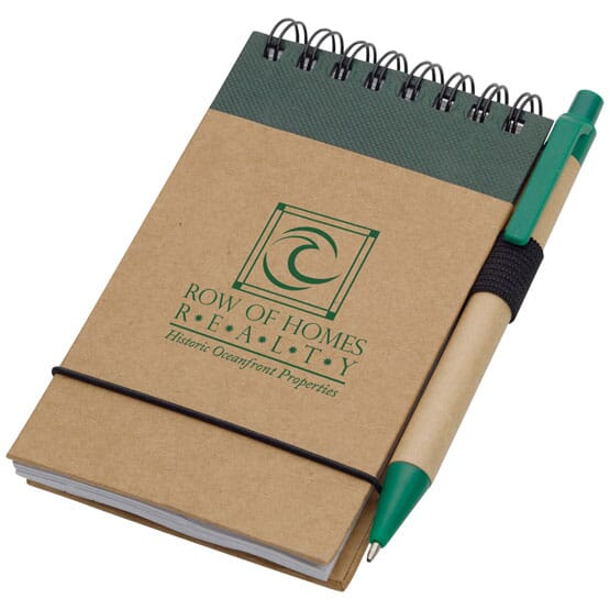 Recycled Jotter & Pen 106012