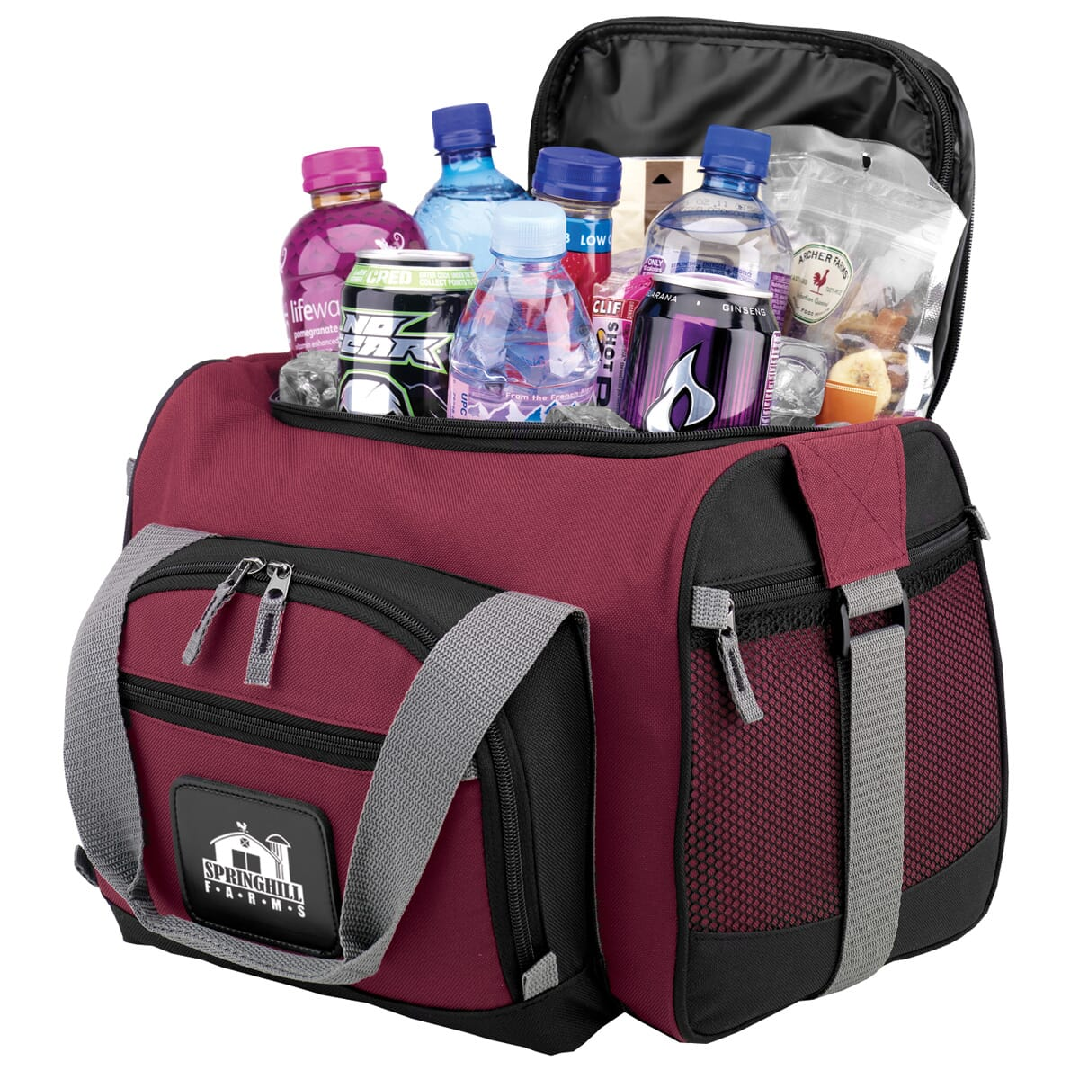 Burgundy Cooler Bag