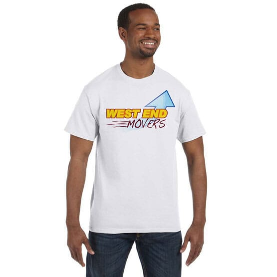 Hanes® Tagless® ComfortSoft® T-Shirt – Full Color