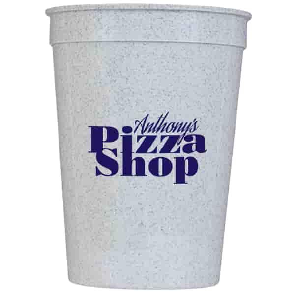 12 oz Solid Stadium Cup