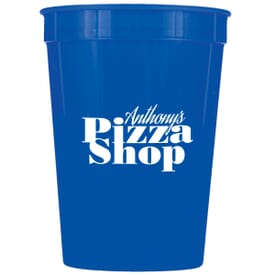 12 oz Solid Stadium Cup
