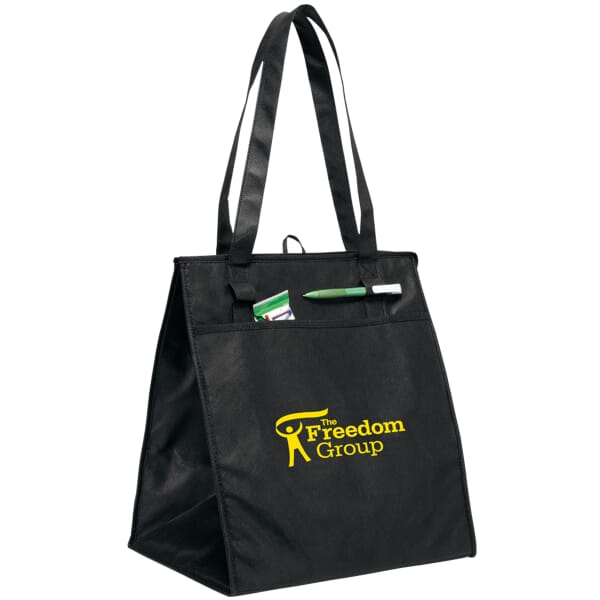 Insulated Zippered Tote