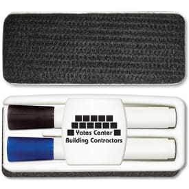 Low Odor Dry Erase 3 Piece Set