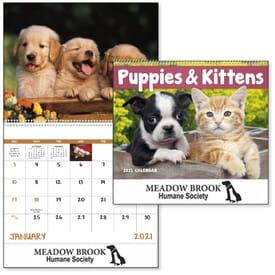 2022 Puppies & Kittens Calendar - Spiral