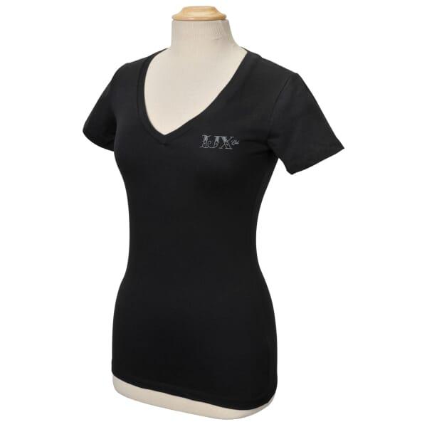 Bella® Ladies' Deep V-Neck T-Shirt