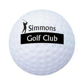 Stress Ball Golf Ball - 24hr Service