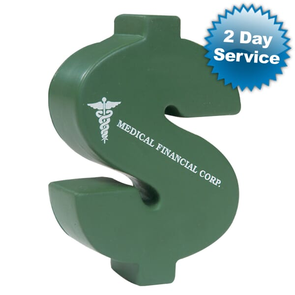Stress Balls Dollar Sign - 24hr Service